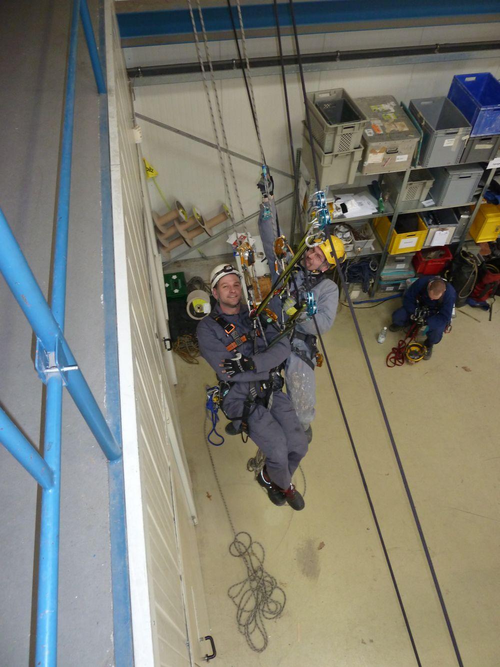 Lehrgang Aufsichtsführender Höhenarbeiter